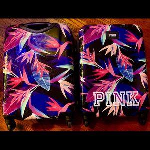 Victoria Secret PINK Wheeled Hard Case Luggage